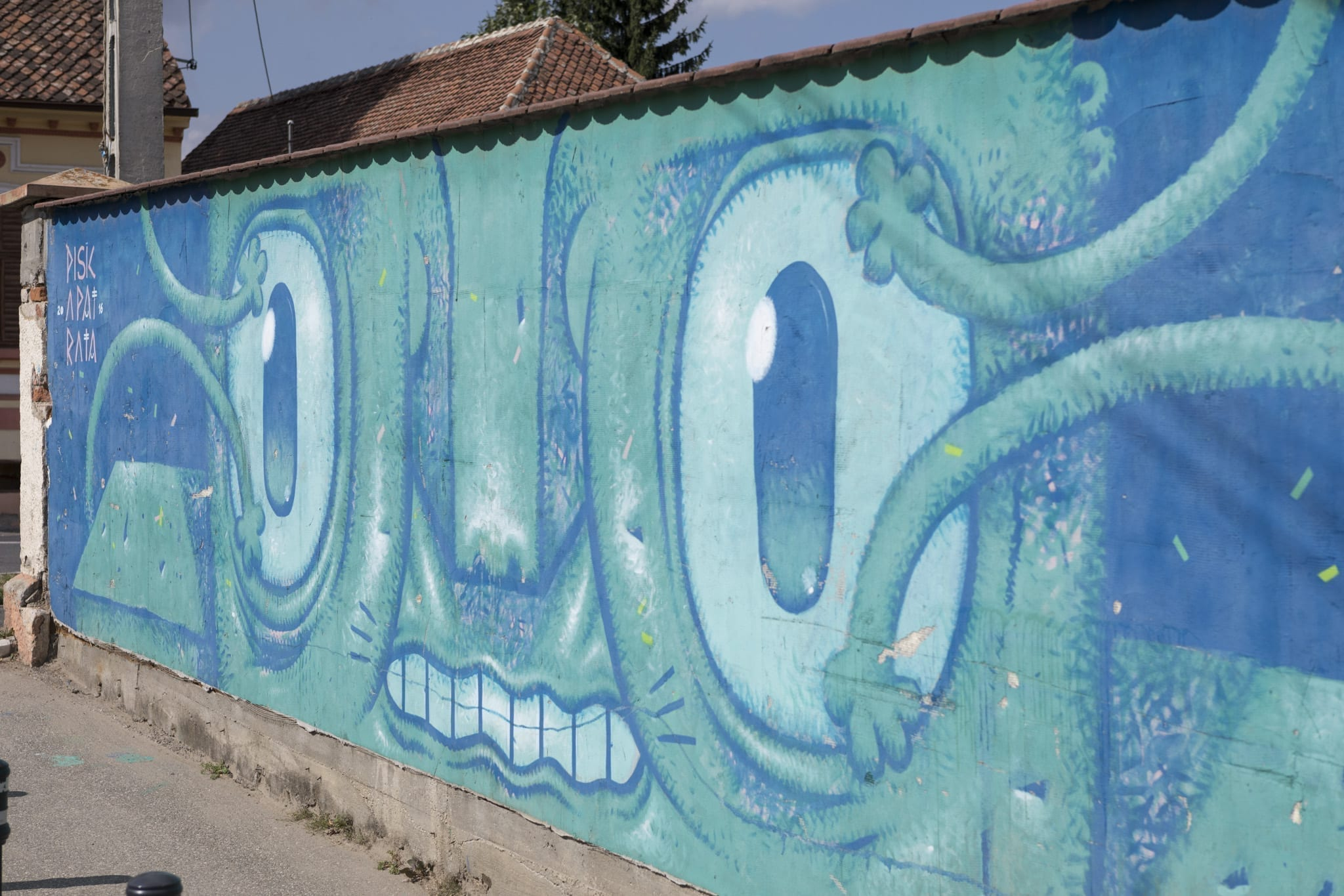 PISICA PĂTRATĂ / 2016 - 2017 Cristian Brasov Un-hidden street art in Romania