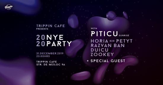 Trippin Cafe NYE 2020 with Piticu (Sunrise)