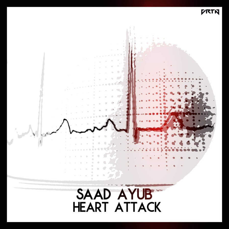Heart Attack is the new peak time techno track by Saad Ayub