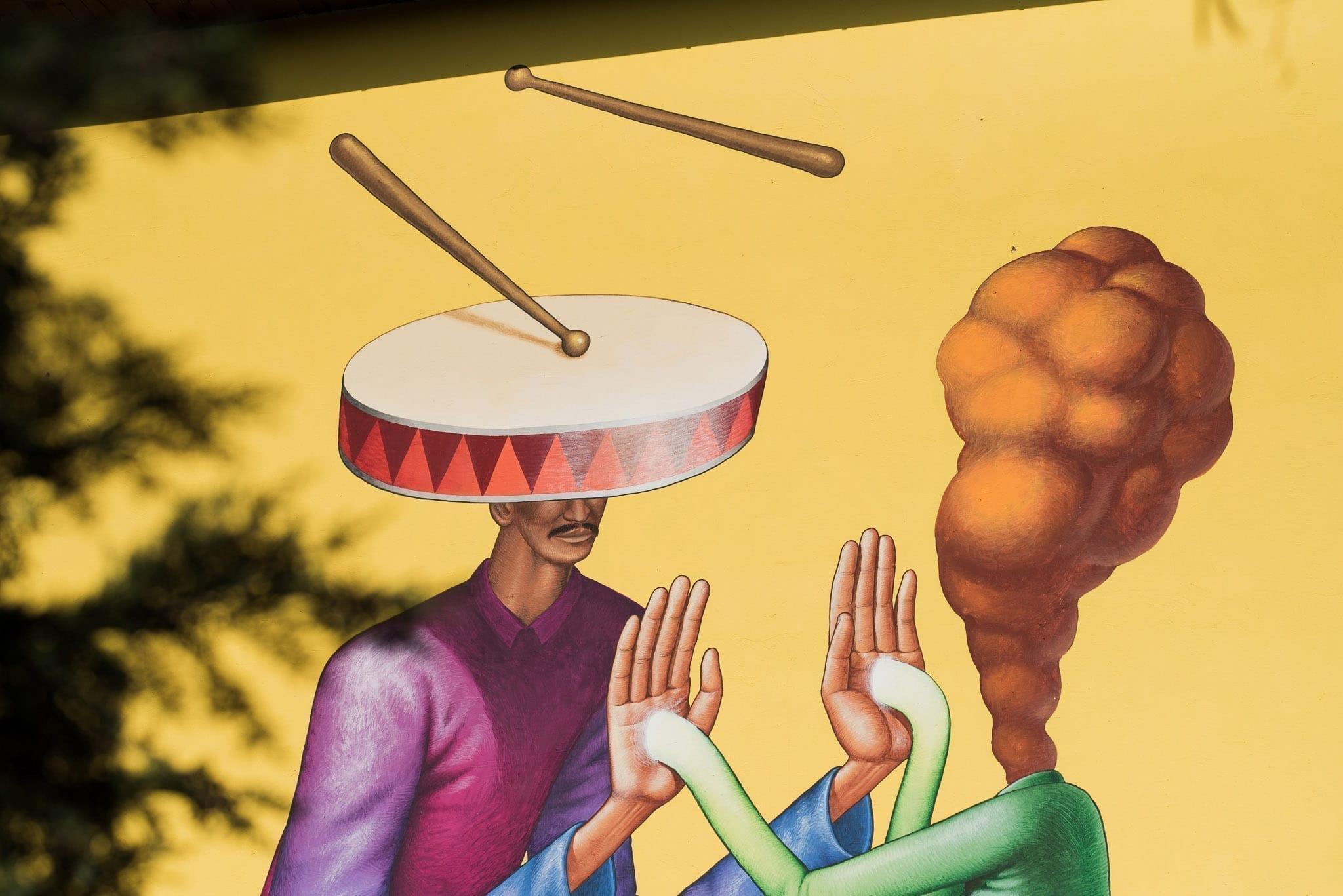 Waone Interesni Kazki (UA) Școala Gimnazială Octavian Goga Cluj Un-hidden Street Art in Romania book photo © Anita Jimbor, Un-hidden Romania