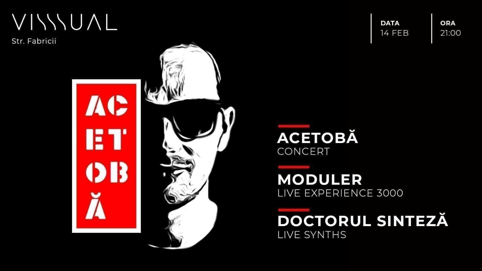 Acetobă, Moduler, Doctorul Sinteză, all (a)live