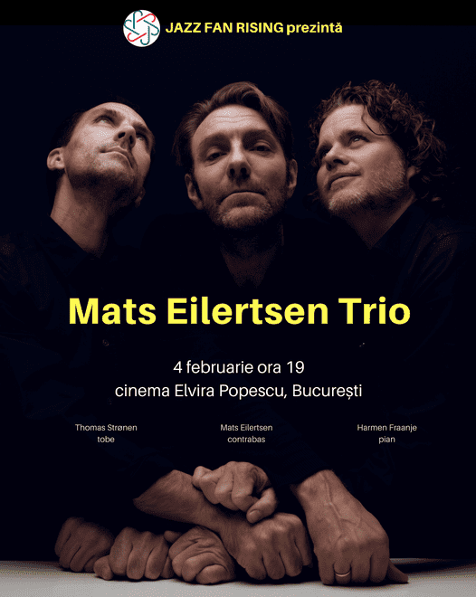 Mats Eilertsen Trio la Jazz Fan Rising București