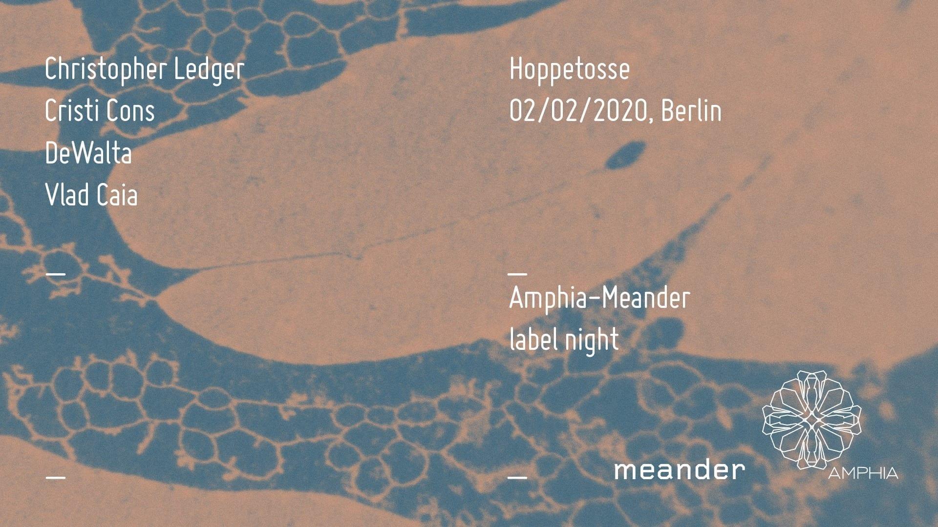 Amphia-Meander label night