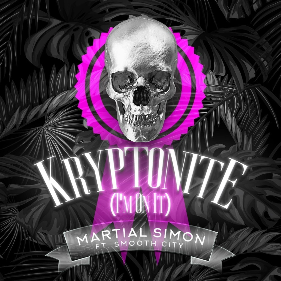 Martial Simon releases Kryptonite (feat. Smooth City)