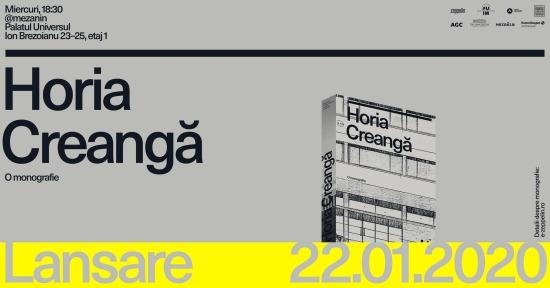"""Lansarea cărții """"Horia Creangă. O monografie"""" @ Mezanin"""