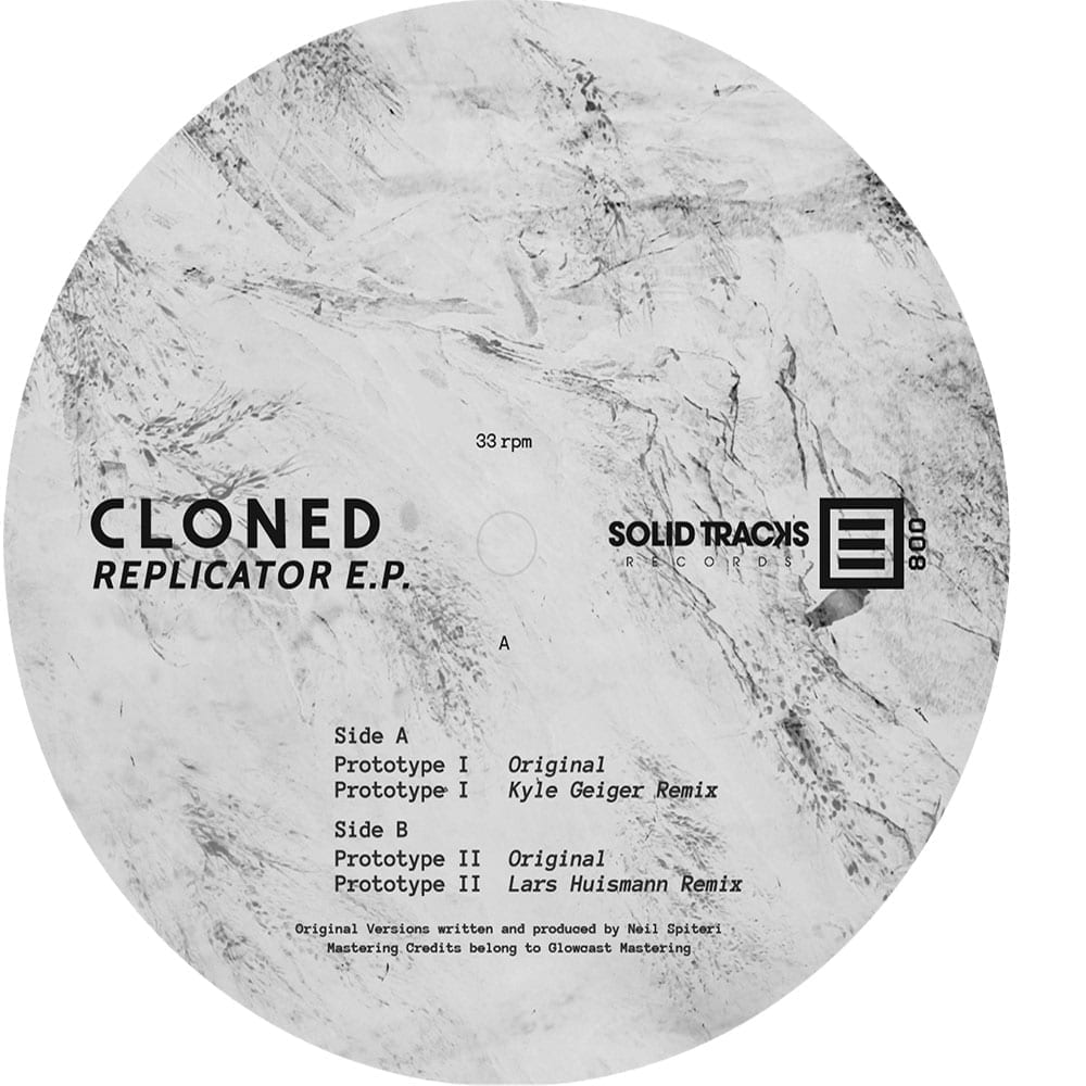 Solid Tracks Records presents its first vinyl release with an e.p. from Maltese artist, Cloned