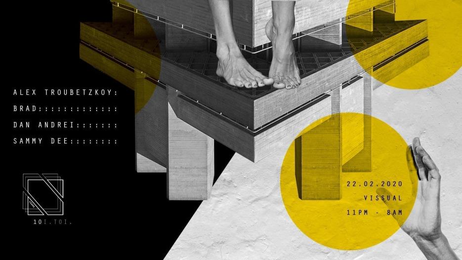 Toi.Toi.Musik presents Sammy Dee, Dan Andrei, Alex Troubetzkoy