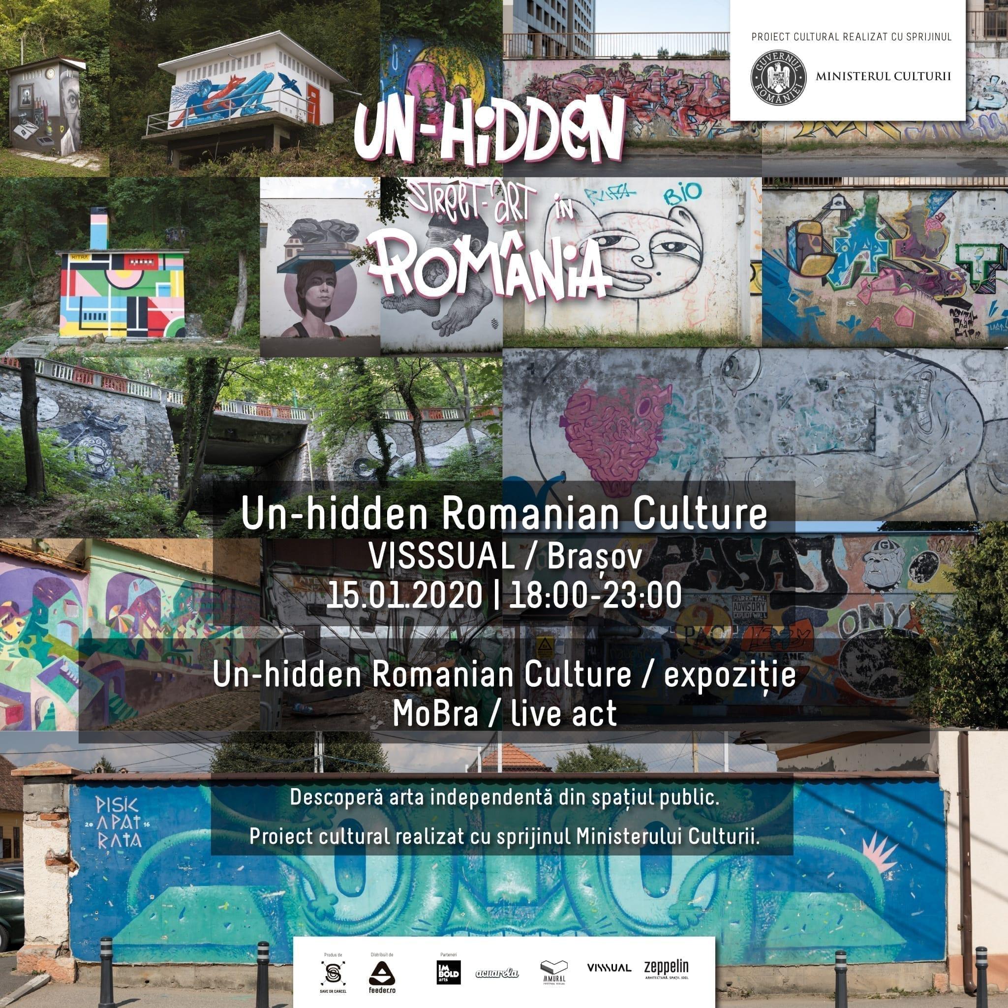 Descoperă expoziția Un-hidden Romanian Culture cu ocazia Zilei Culturii Naționale @ Visssual, Brașov