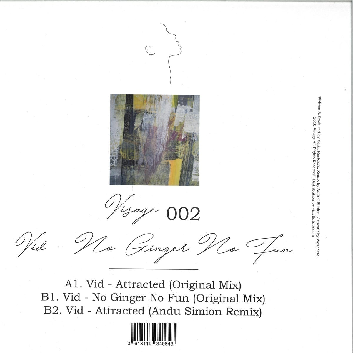 Vid - No Ginger No Fun EP [Visage LTD] back