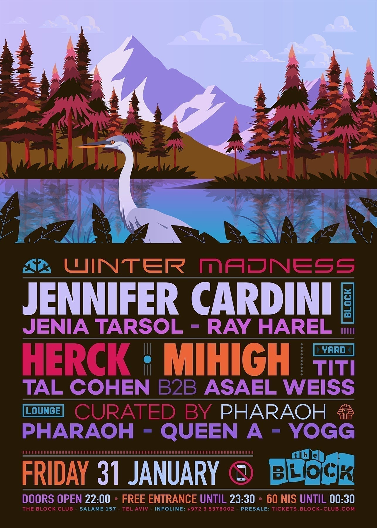 Winter Block Madness - Jennifer Cardini, Mihigh, Herck