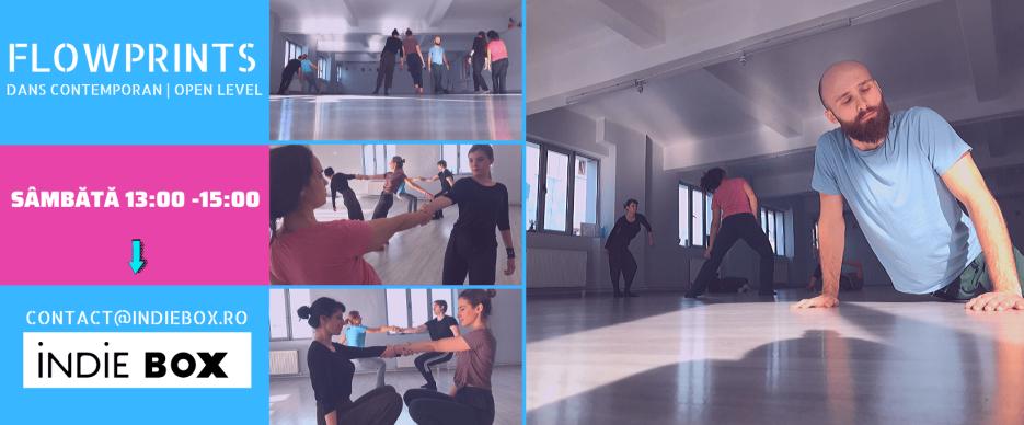 Cursuri de dans contemporan in februarie | Flowprints