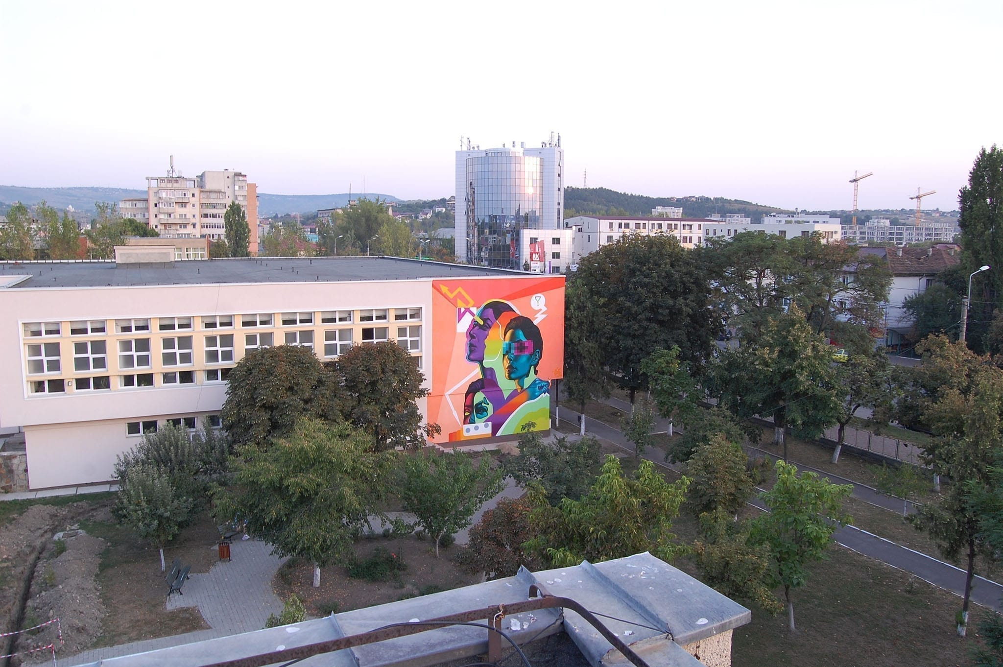 2019 KAPS CREW - Colegiul Tehnic Ioan C. Stefanescu / Un-hidden street art in Romania book art files: IAȘI