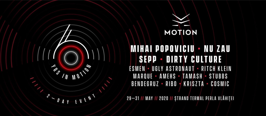 6YRS in Motion : Mihai Popoviciu : Nu Zau : Sepp : Dirty Culture
