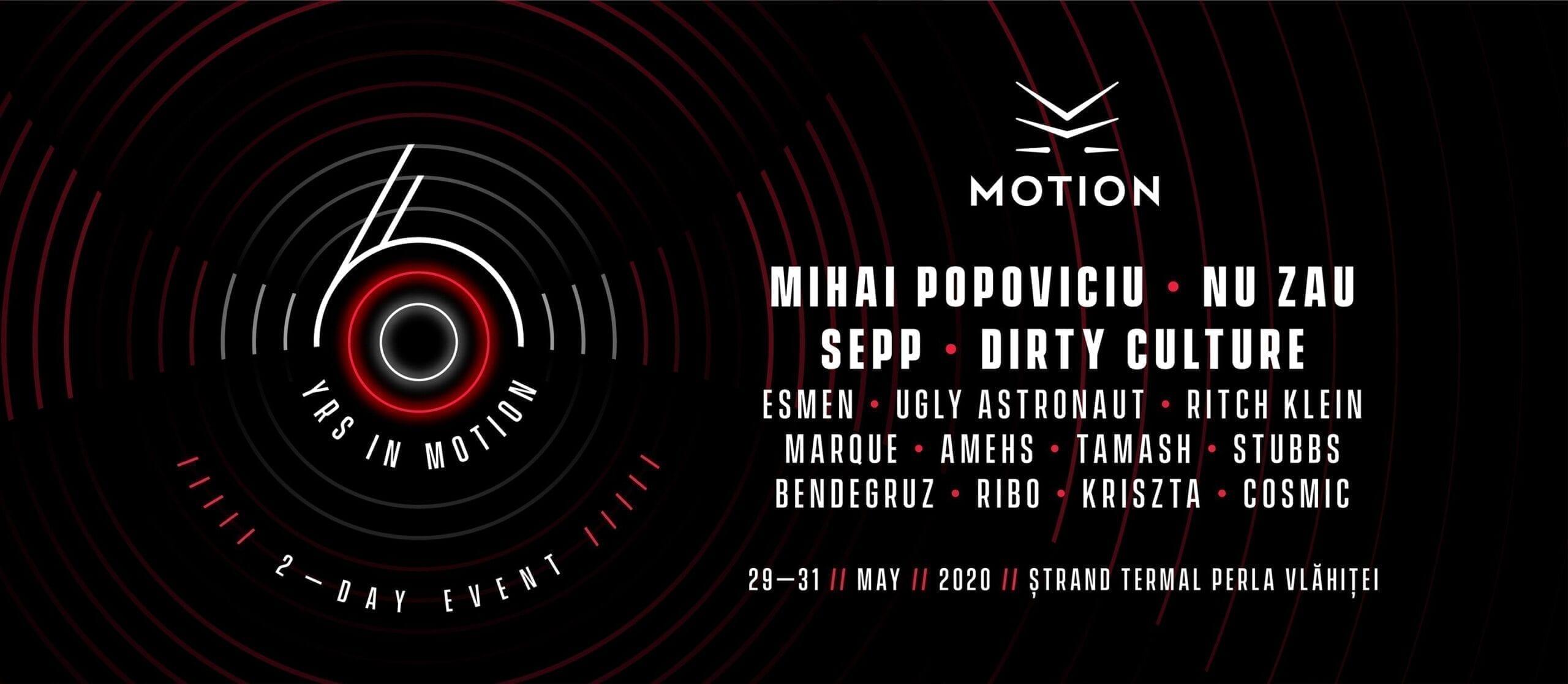 6YRS in Motion : Mihai Popoviciu : Nu Zau : Sepp : Dirty Culture
