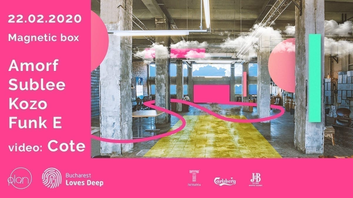 Bucharest Art Factory w. Amorf (live) : Kozo : Sublee : [ COTE ]