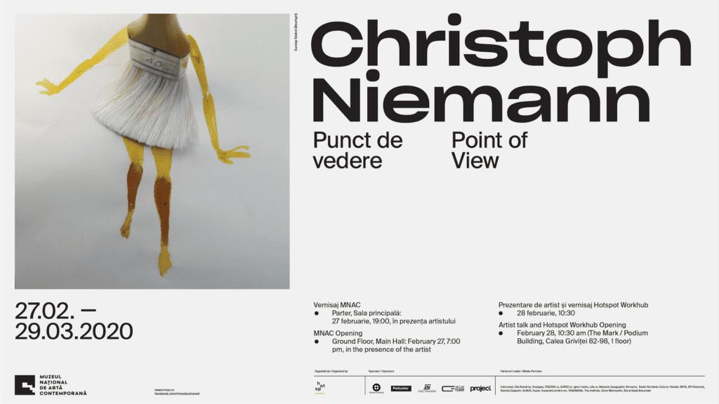 Christoph Niemann. Punct de vedere la MNAC București