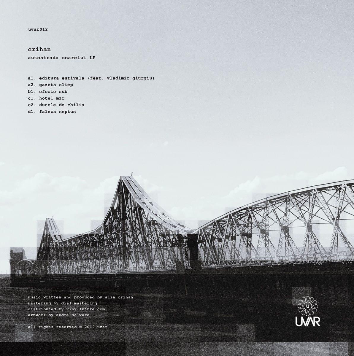 Crihan - Autostrada Soarelui LP [UVAR] 2