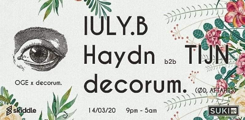 Decorum Iuly B Haydn Tijn
