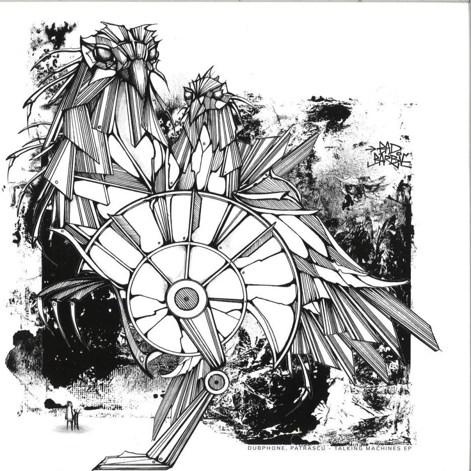 Dubphone, Patrascu - Talking Machines EP [Bad Barbie Records] 1