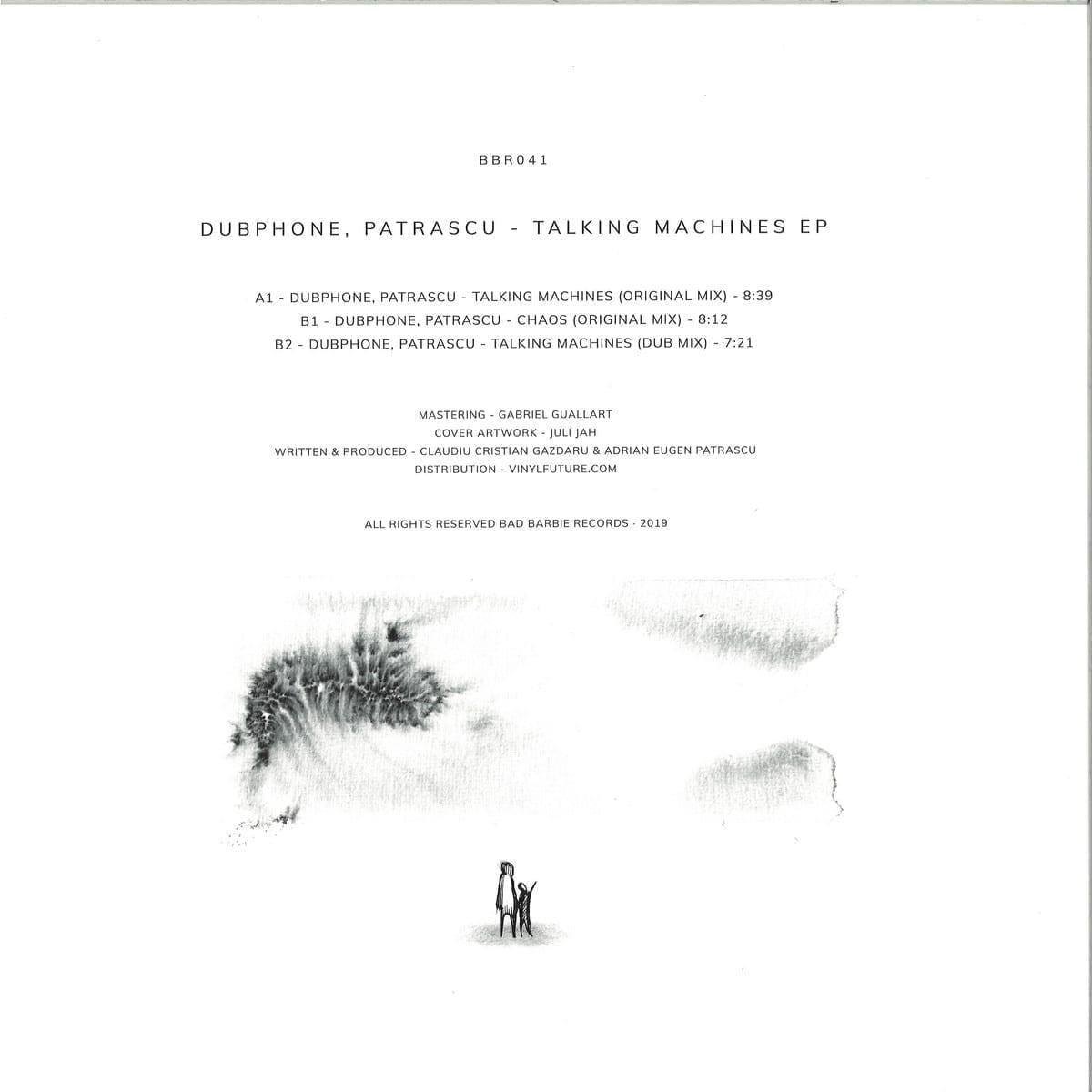 Dubphone, Patrascu - Talking Machines EP [Bad Barbie Records] 2