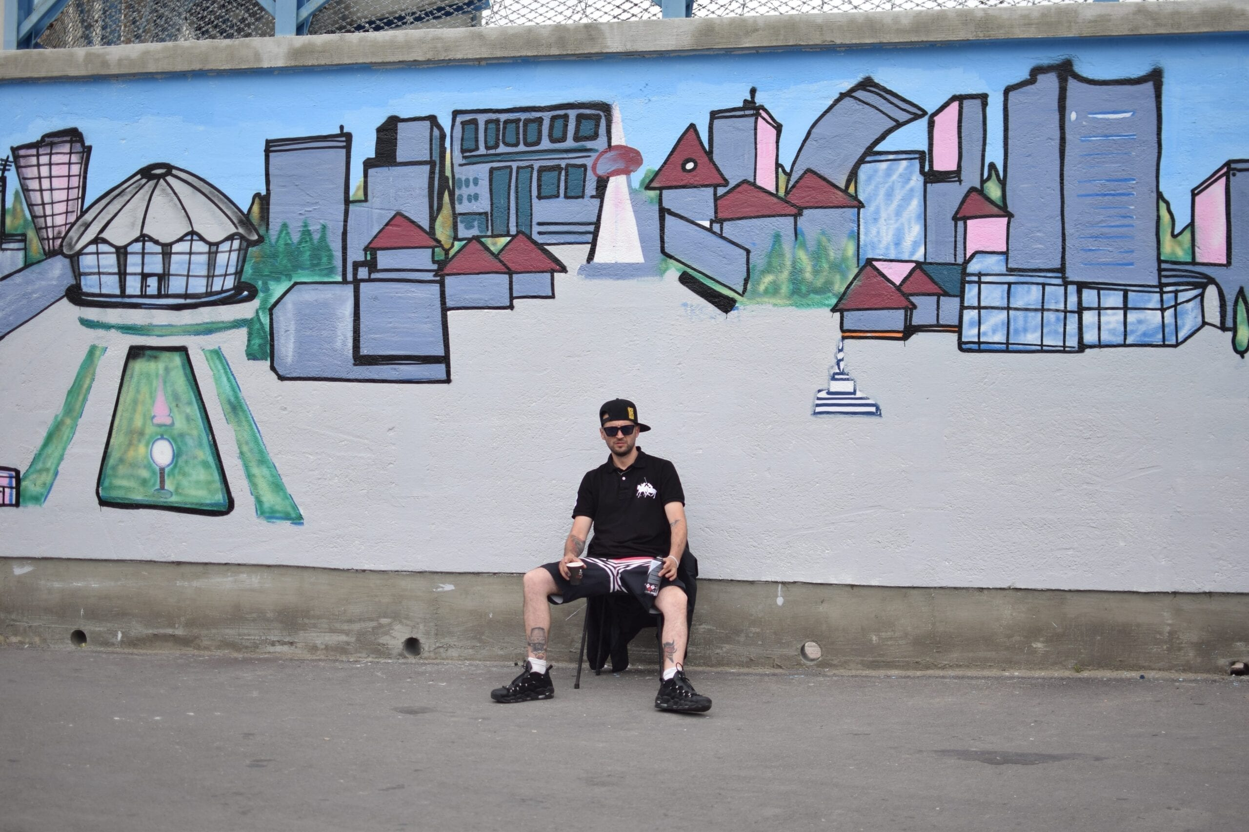ERPS Street Delivery penitenciarul Iași 2018 Un-hidden street art in Romania book art files