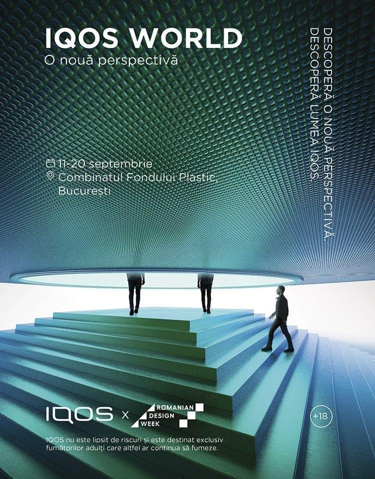 IQOS World creează o nouă perspectivă în cadrul Romanian Design Week