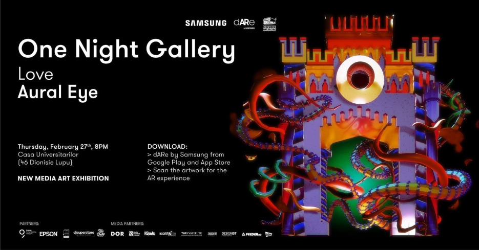 One Night Gallery Love Aural Eye