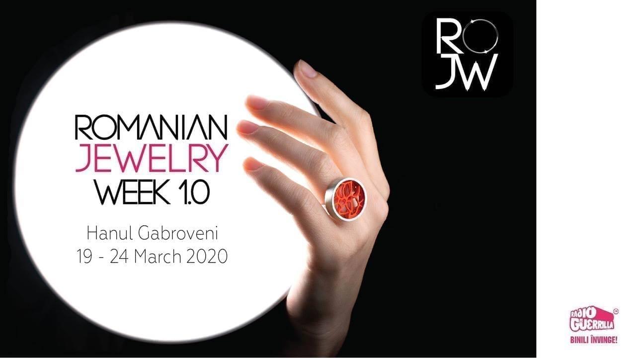 Romanian Jewelry Week 1.0 - Prima editie