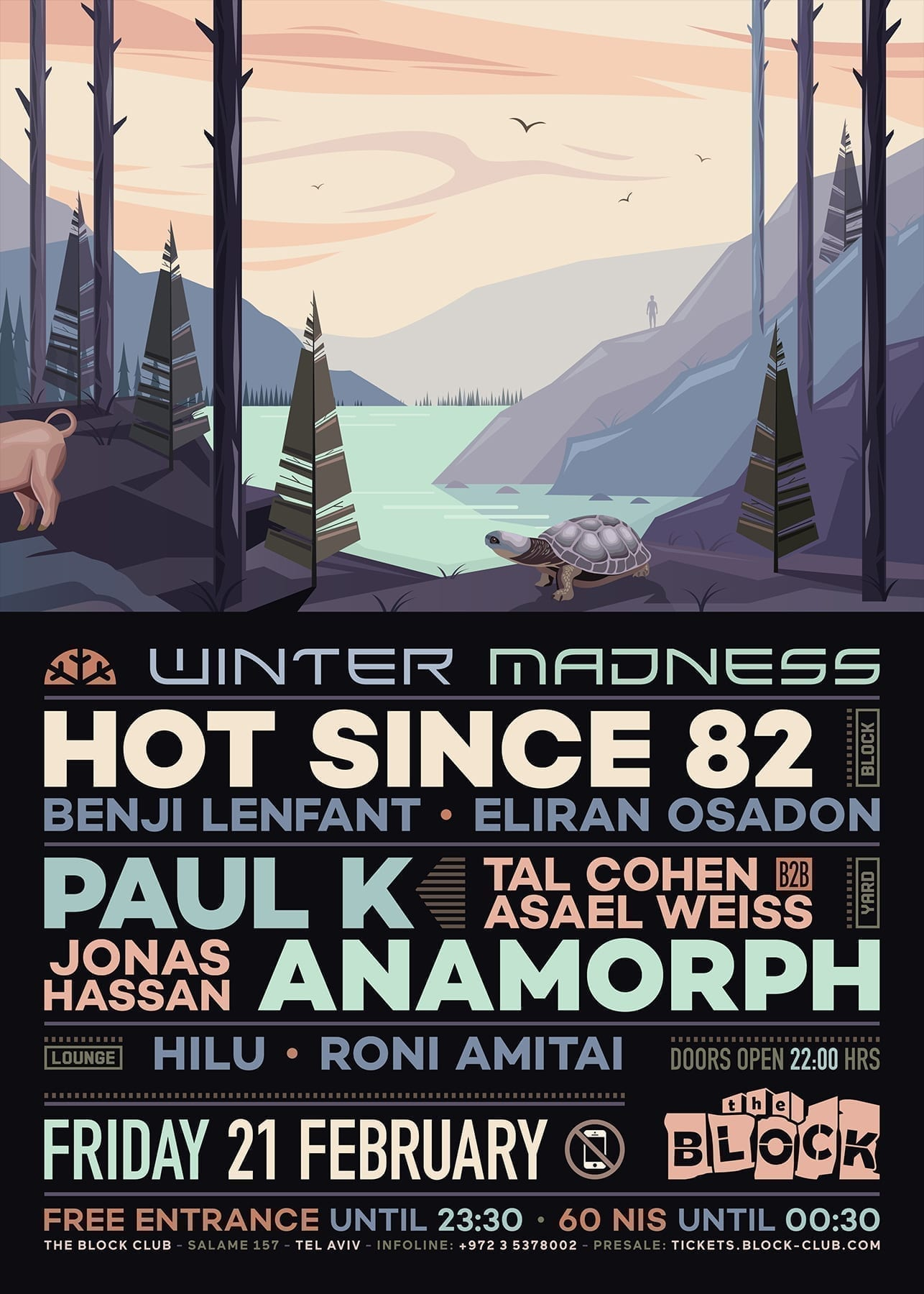 The Block Winter Madness: Hot Since 82, Paul K, Anamorph, Anapol