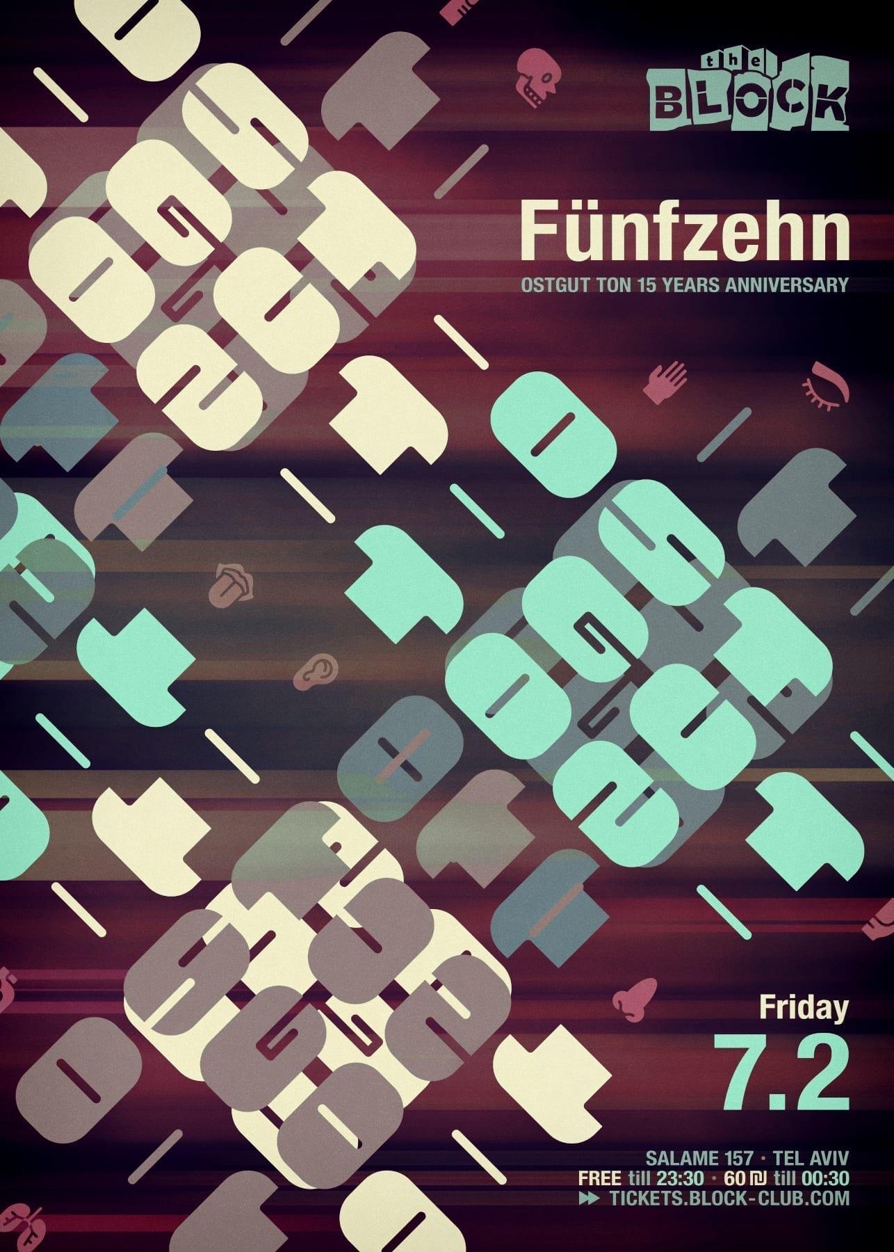 Ostgut Fünfzehn, Friday 7.2 @ The Block