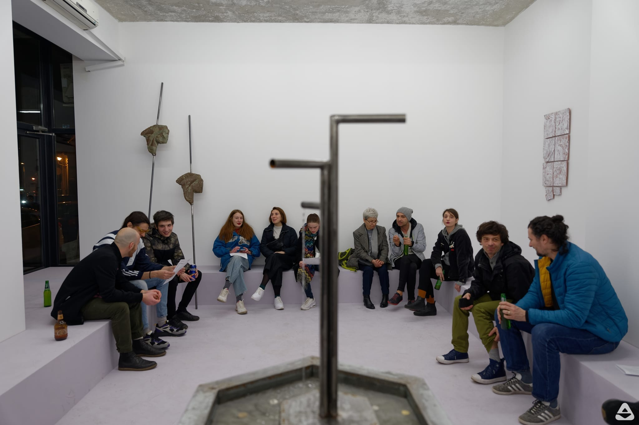 Suprainfinit Gallery - ansamblu interior 2