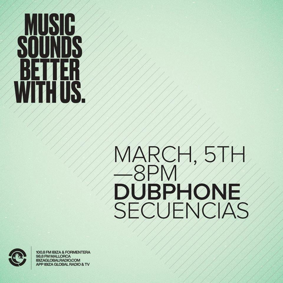 Secuencias radioshow with Dubphone