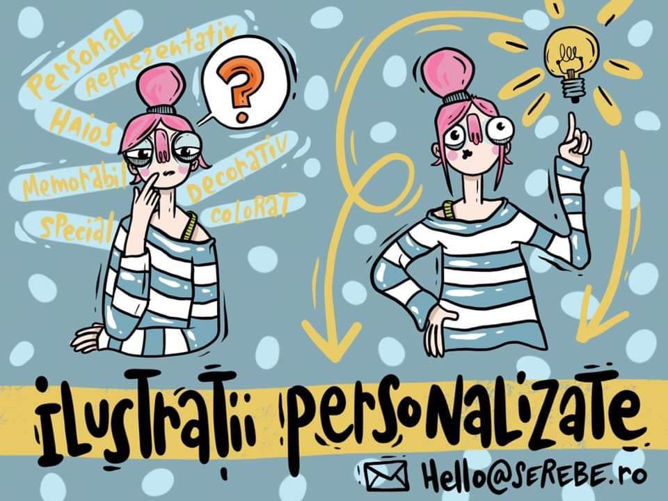 Serebe ilustratii Personalizate