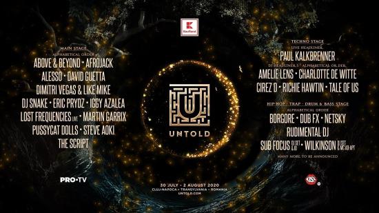 UNTOLD Festival 2020