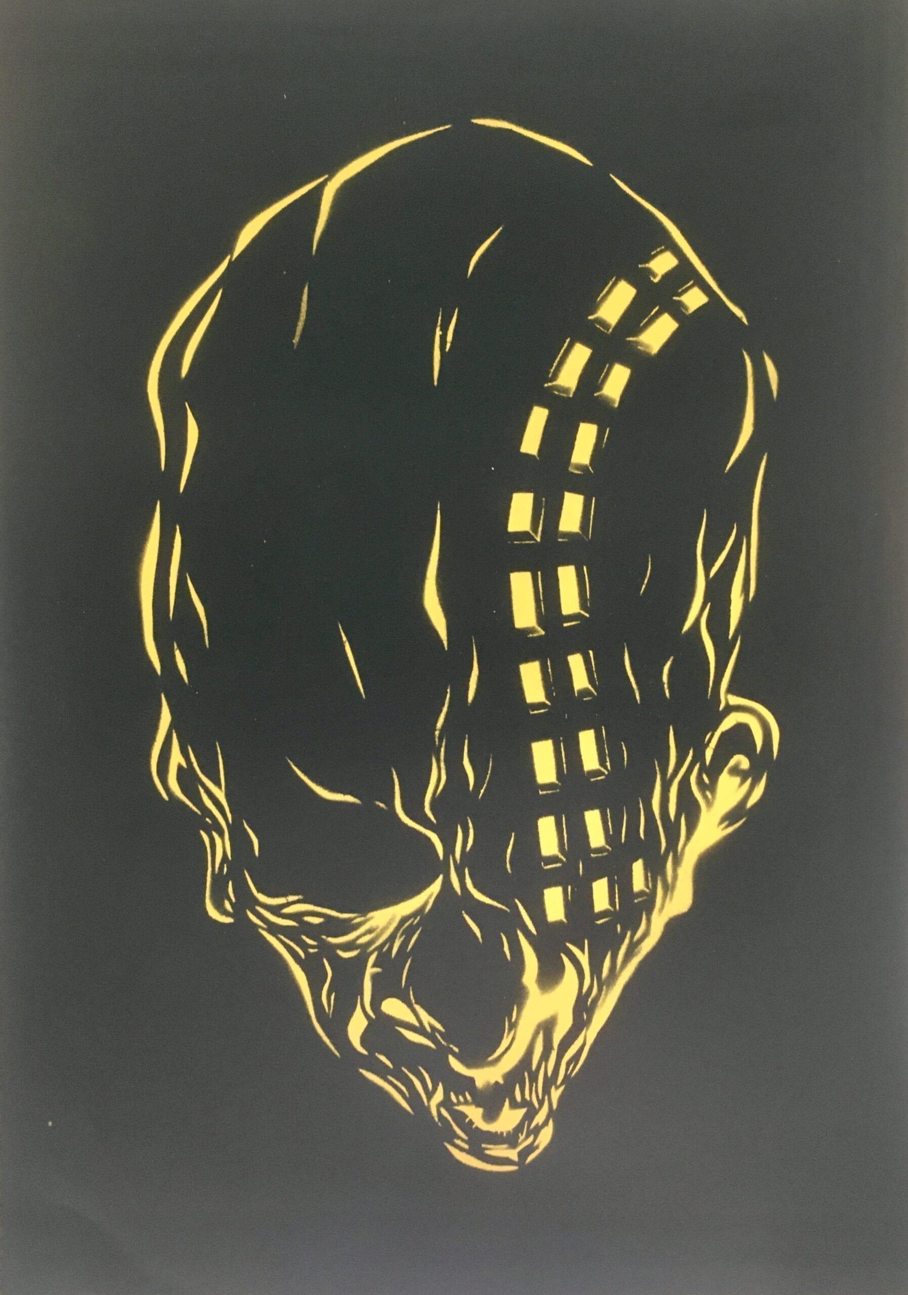 Urban Prophecy by Robert Obert stencil
