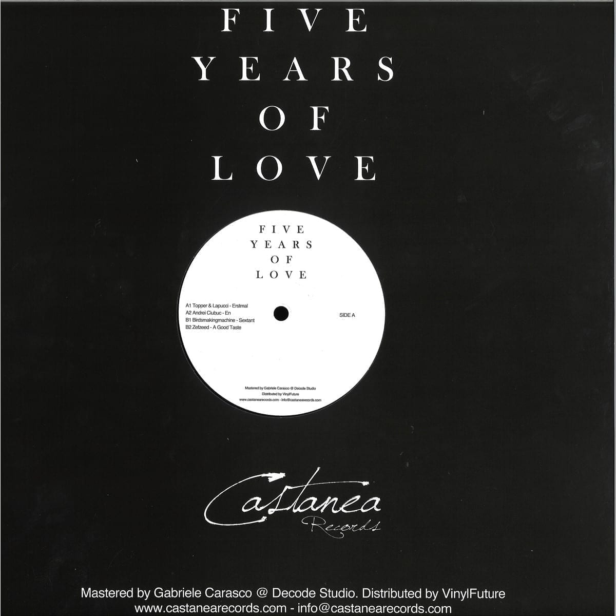 Various - Five Years Of Love [Castanea Records] 2
