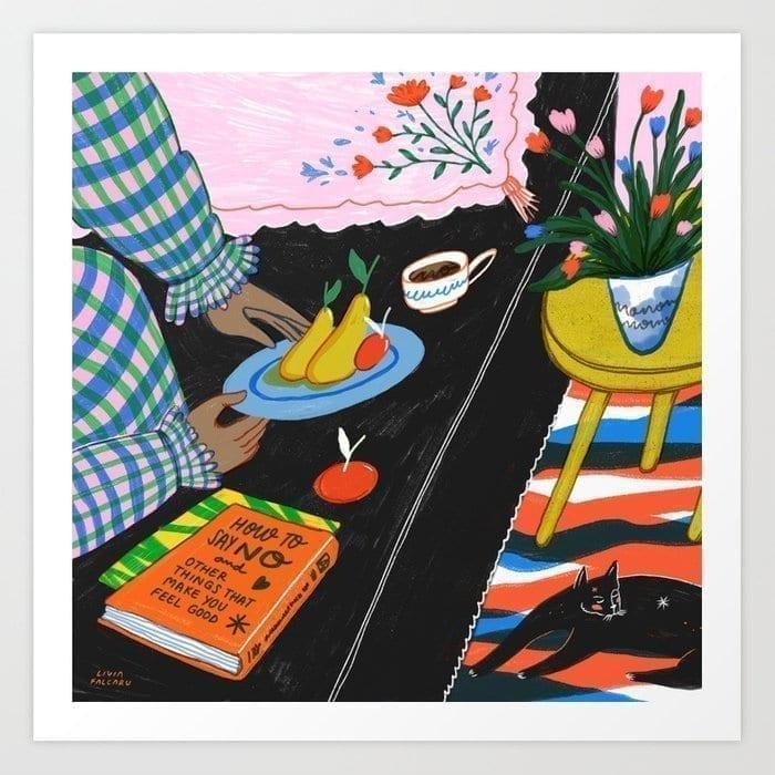 the-art-of-saying-no-prints Livia Falcaru