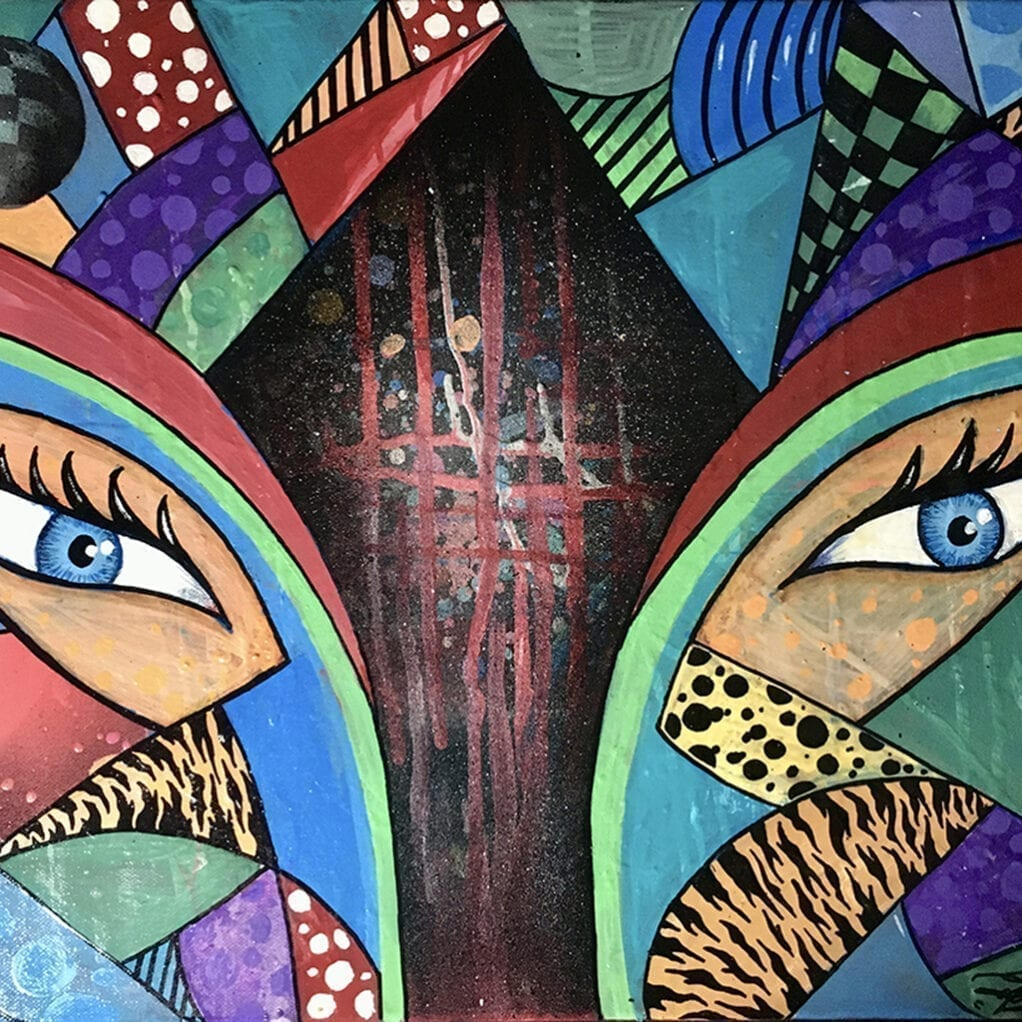 2020 AEUL - Lacrima Dorinței The Tear of the Wish painting 10