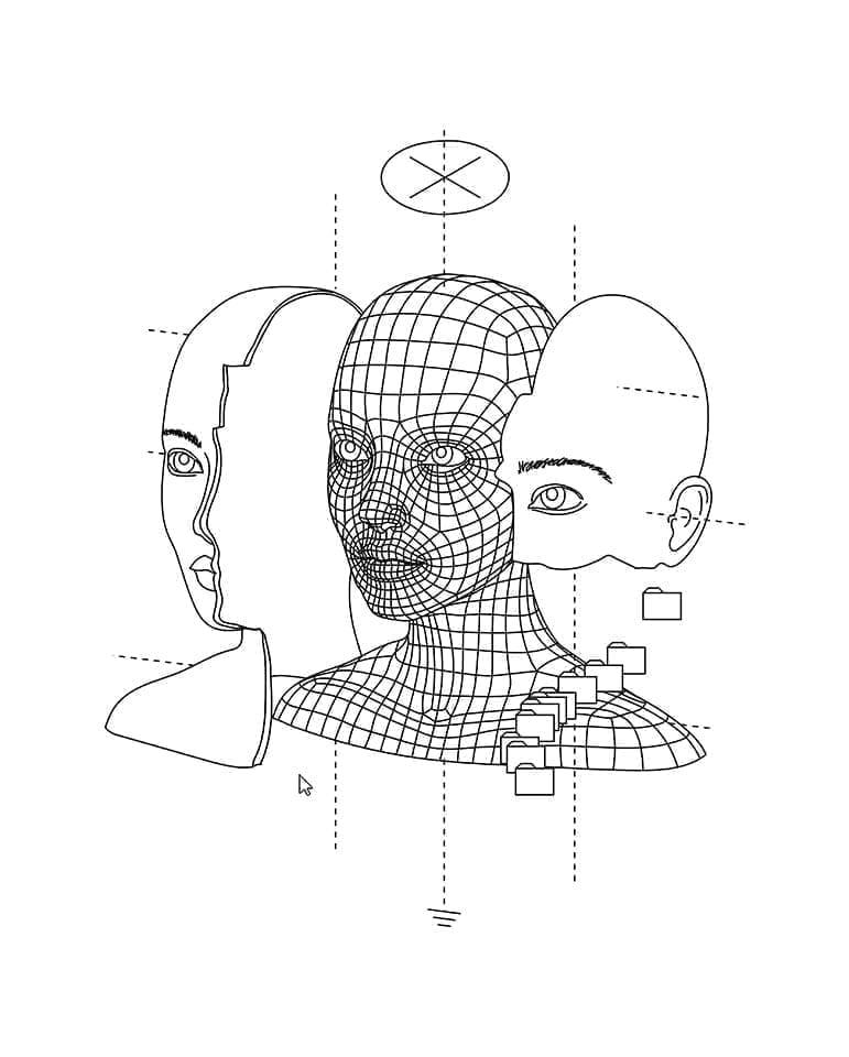 Antonia Corduneanu - creation sketch