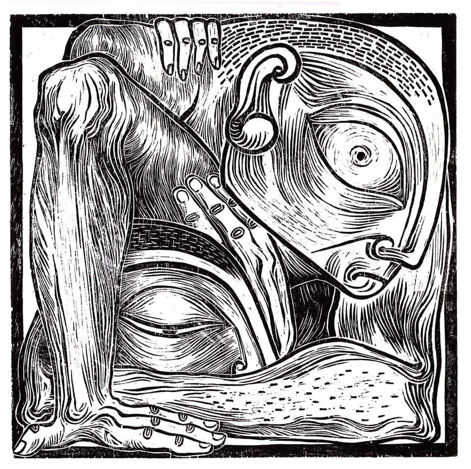 Stai acasă și colorează Maria Bălan - Cain si Abel sketch