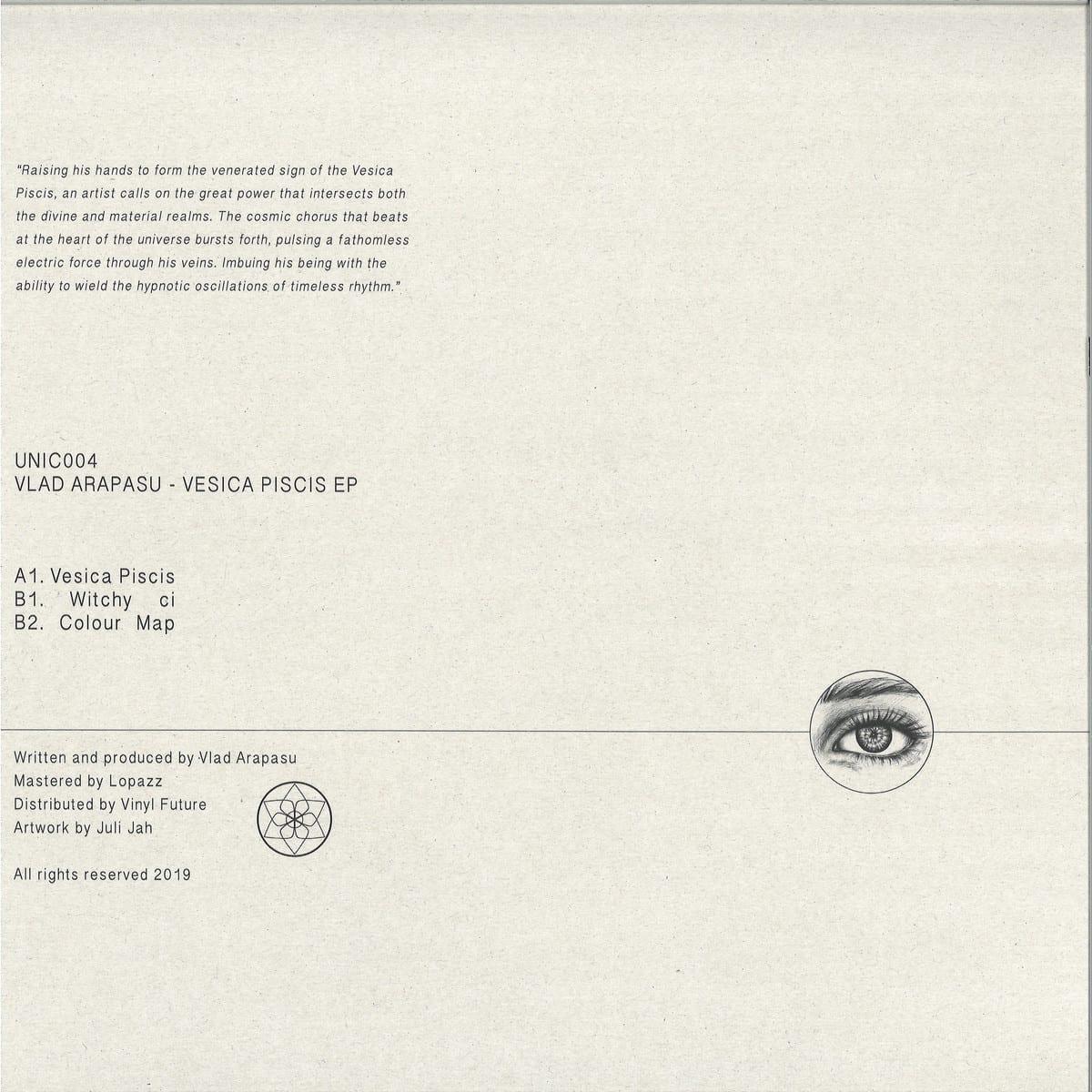 Vlad Arapasu - Vesica Piscis EP [Unic] 02