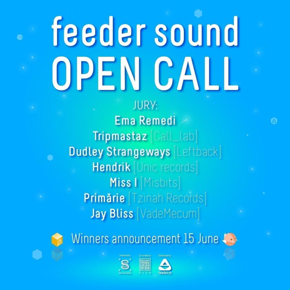 feeder sound OPEN CALL TRACKS 2020