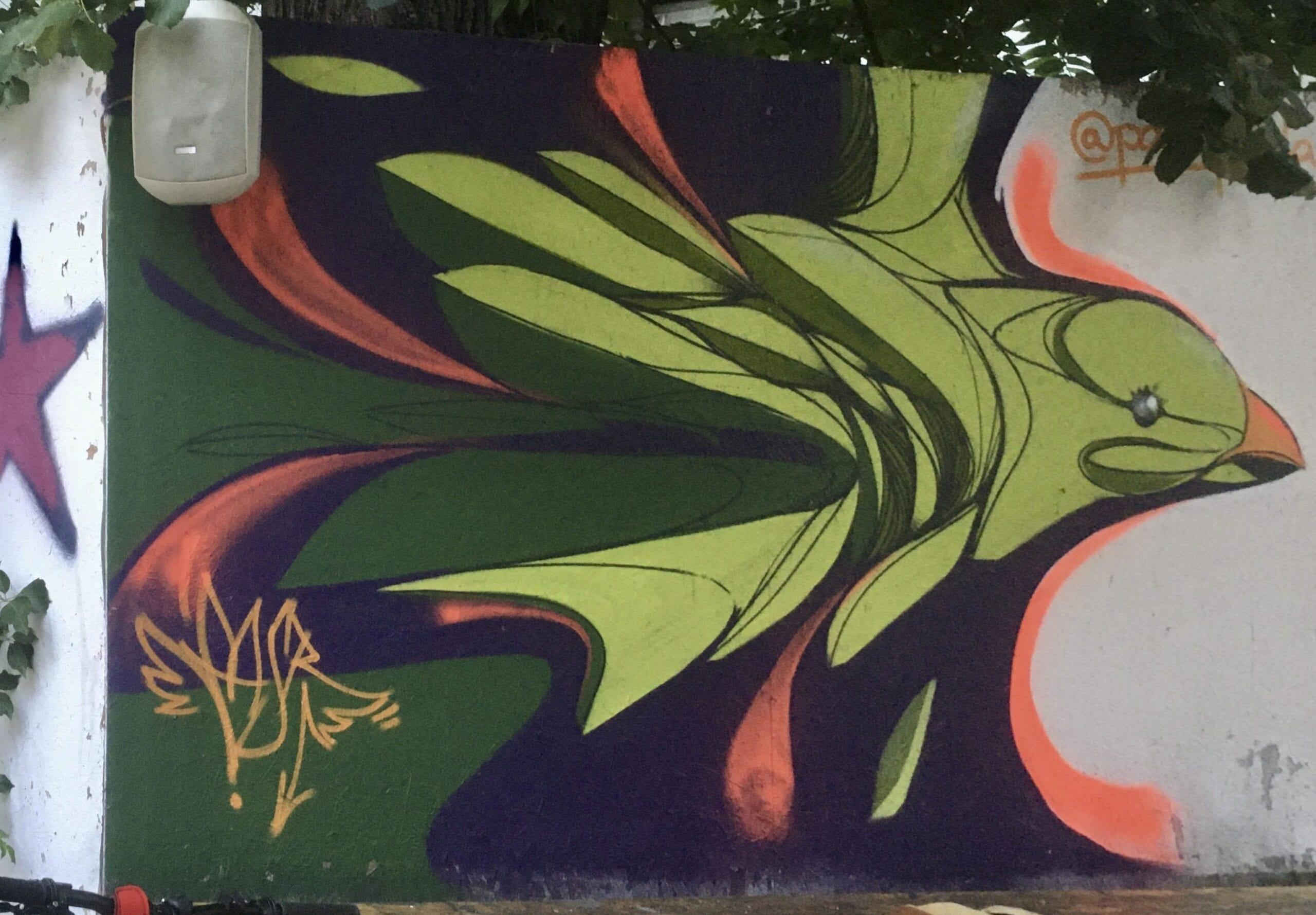 2020 PASR Passtrada - street art at Spatiul M60