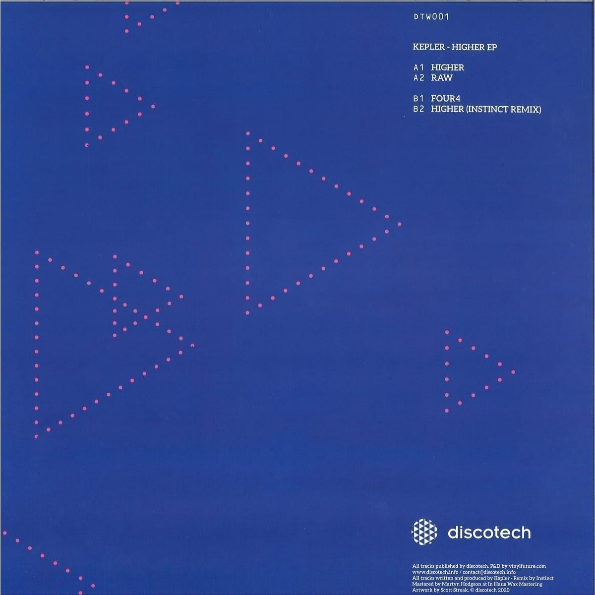 Kepler, Instinct - DTW001 [discotech] 2
