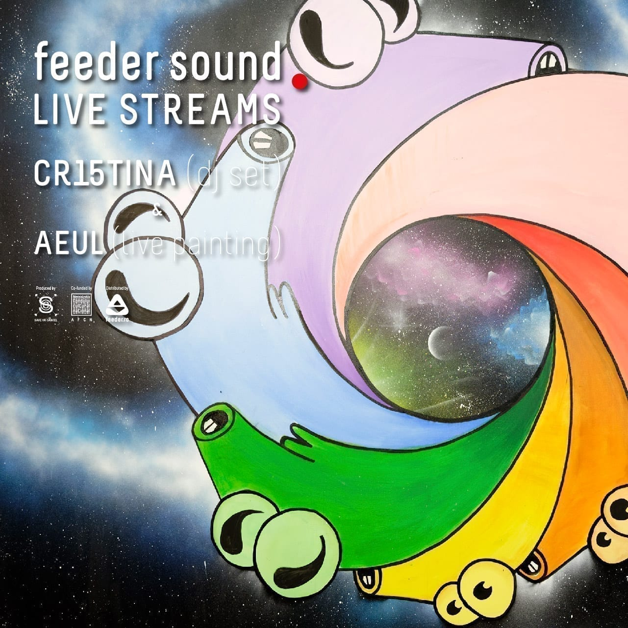 feeder sound LIVE CR15TINA & AEUL