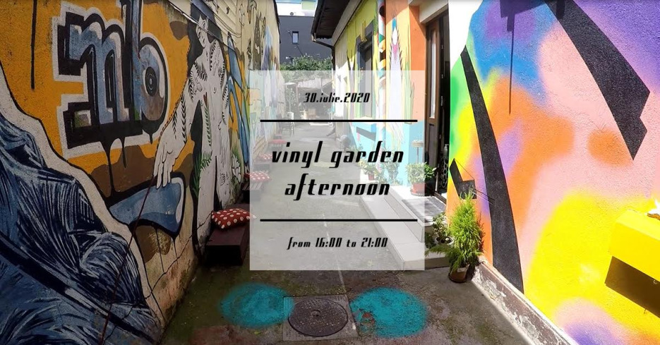 A Vinyl Garden Afternoon at Misbits record shop
