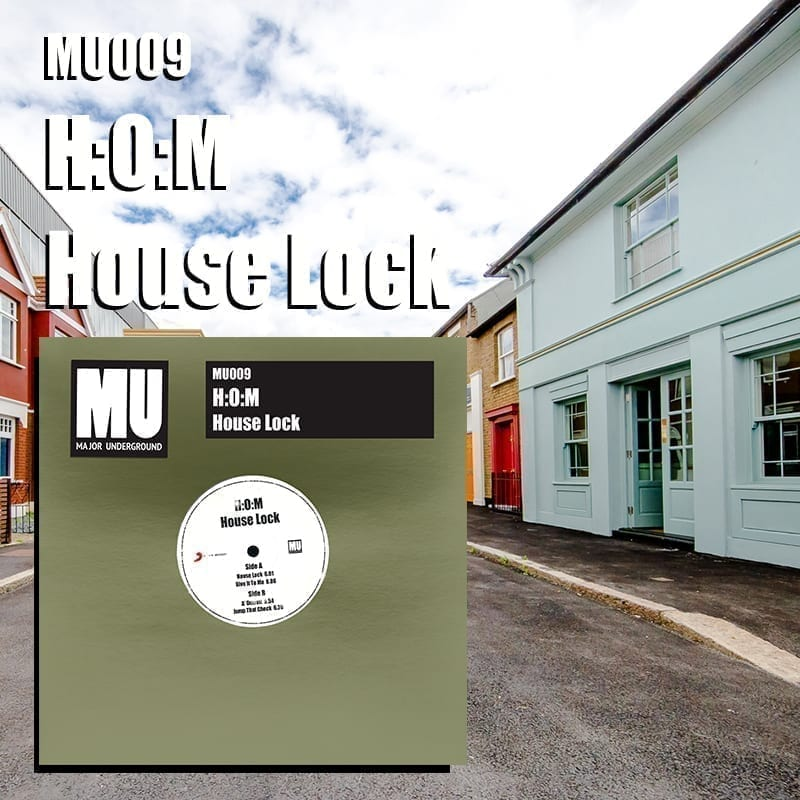 H:O:M presents uplifting 'House Lock' EP on Major Underground
