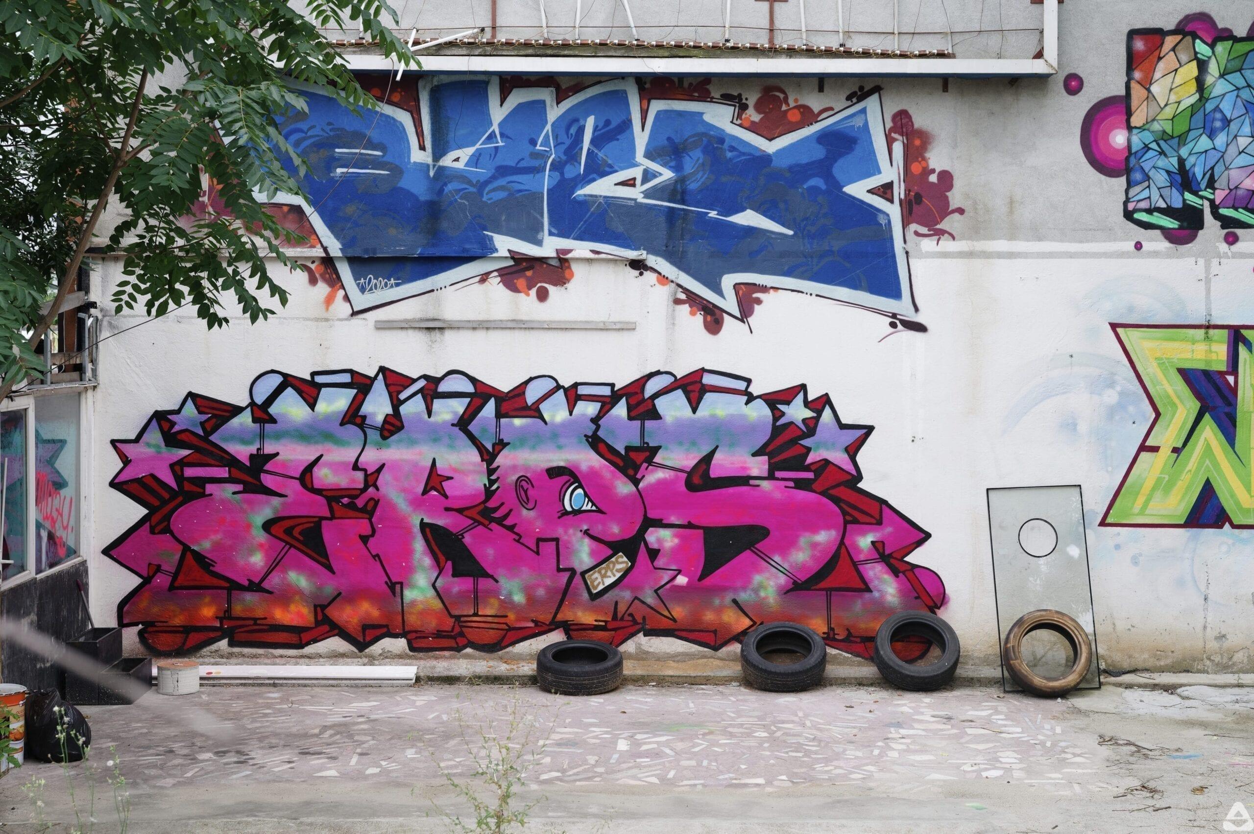 Biex, ERPS graffiti Bucharest, Calea Floreasa 2020