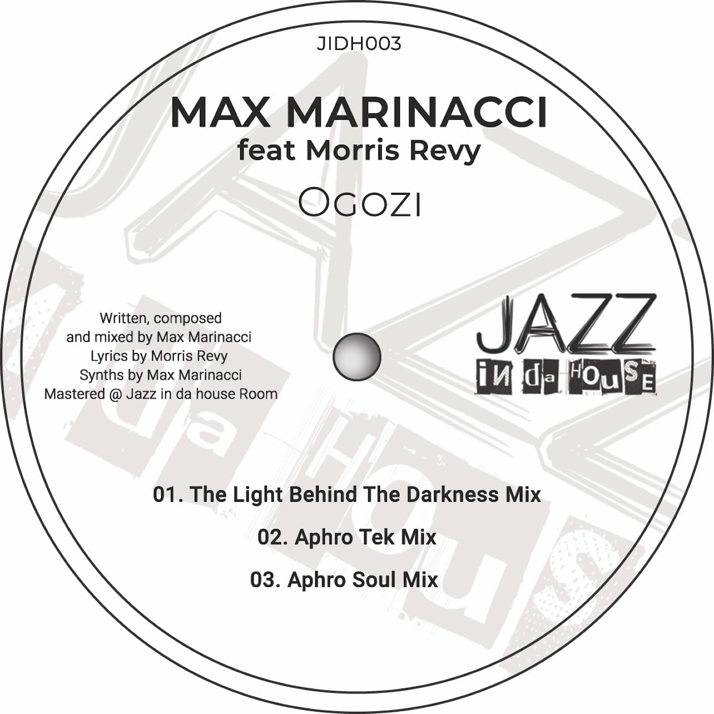 Max Marinacci releases new single 'Ogozi' featuring Morris Revy on Jazz In Da House