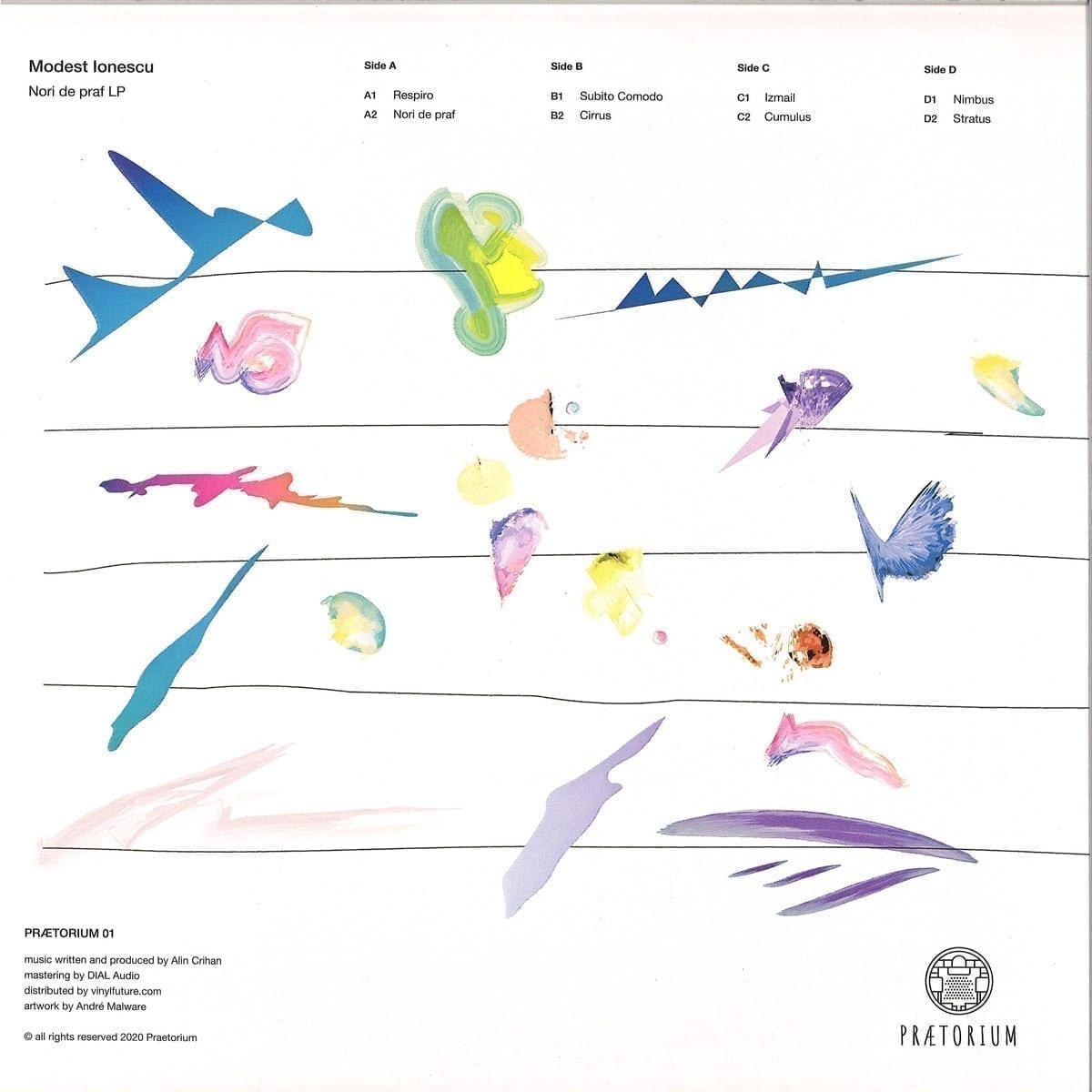 Modest Ionescu - PRAETORIUM 01 back